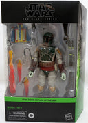 Star Wars The Black Series Box Art 6 Inch Action Figure Deluxe - Boba Fett