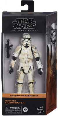 Star Wars The Black Series 6 Inch Action Figure Box Art Exclusive - Remnant Stormtrooper