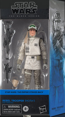 Star Wars The Black Series Box Art 6 Inch Action Figure Wave 2 Blue - Hoth Rebel Trooper