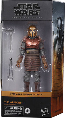 Star Wars The Black Series Box Art 6 Inch Action Figure Wave 2 Orange - The Armorer