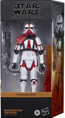 Star Wars The Black Series Box Art 6 Inch Action Figure Wave 2 Orange - Incinerator Trooper