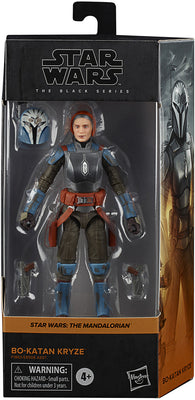 Star Wars The Black Series Box Art 6 Inch Action Figure Wave 4 - Bo-Katan Kryze