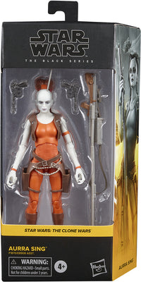 Star Wars The Black Series 6 Inch Action Figure Box Art Wave 5 - Aurra Sing