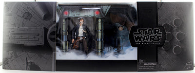 Star Wars The Black Series 3.75 Inch Action Figure Box Set - Han Solo Exogorth Escape Exclusive (Shelf Wear Packaging)