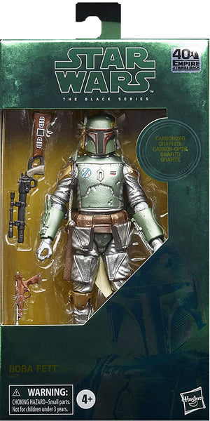 Star Wars The Black Series 6 Inch Action Figure Exclusive - Carbonized Boba Fett