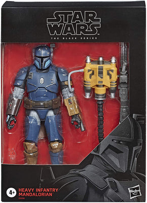 Star Wars The Black Series 6 Inch Action Figure Exclusive - Heavy Infantry Mandalorian