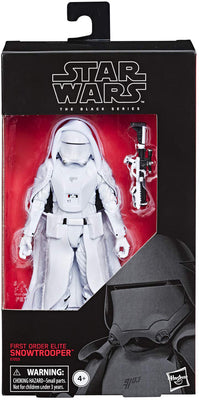 Star Wars The Black Series 6 Inch Action Figure Exclusive - First Order Snowtrooper Elite (Shelf Wear Packaging)