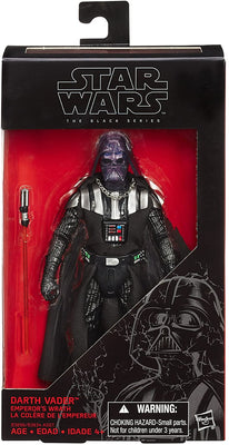 Star Wars The Black Series 6 Inch Action Figure Exclusive - Darth Vader Emperor's Wrath