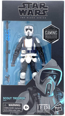Star Wars The Black Series 6 Inch Action Figure Gaming Greats Exclusive - Scout Trooper