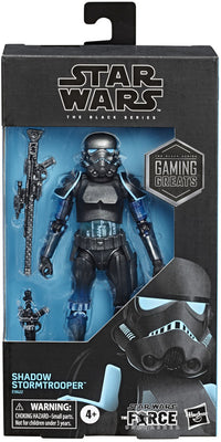 Star Wars The Black Series Gaming Greats 6 Inch Action Figure Exclusive - Shadow Stormtrooper