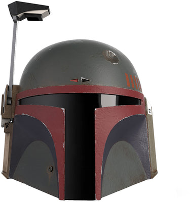 Star Wars The Black Series Life Size Prop Replica Helmet - Boba Fett (Re-Armored) Premium Electronic Helmet