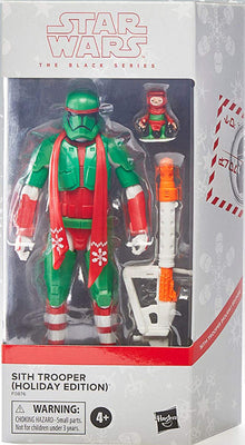 Star Wars The Black Series Holiday Edition 6 Inch Action Figure Exclusive - Sith Trooper (Green)