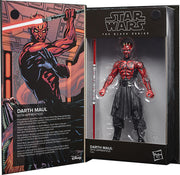Star Wars The Black Series Lucasfilm 50th anniversary 6 Inch Action Figure Wave 1 - Darth Maul