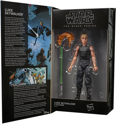 Star Wars The Black Series Lucasfilm 50th anniversary 6 Inch Action Figure Wave 1 - Luke Skywalker & Ysalamiri