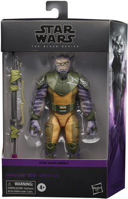 Star Wars The Black Series 6 Inch Action Figure Rebels Series Deluxe - Garazeb Zeb Orrelios