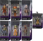 Star Wars The Black Series 6 Inch Action Figure Rebels Series - Set of 7 (Includes Zeb)