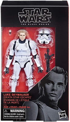 Star Wars The Black Series 6 Inch Action Figure Red Exclusive - Luke Skywalker Death Star Escape