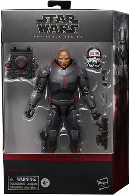 Star Wars The Black Series The Bad Batc 6 Inch Action Figure Box Art Deluxe - Bad Batch Wrecker