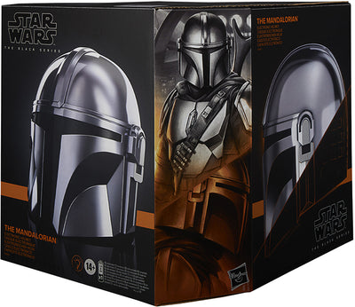 Star Wars The Black Series The Mandalorian Life Size Prop Replica - The Mandalorian Premium Electronic Helmet