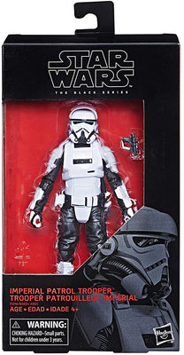 Star Wars The Black Series 6 Inch Action Figure Wave 20 - Imperial Patrol Trooper #72 (Shelf Wear Packaging)
