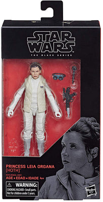 Star Wars The Black Series 6 Inch Action Figure Wave 21 - Princess Leia Hoth #75