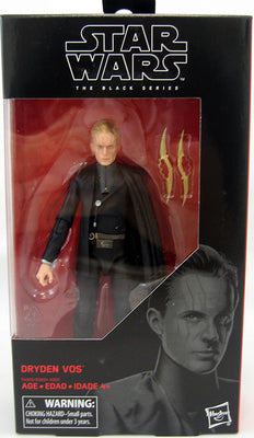 Star Wars The Black Series 6 Inch Action Figure Wave 31 - Dryden Vos #79 (Shelf Wear Packaging)