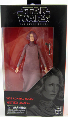 Star Wars The Black Series 6 Inch Action Figure Wave 31 - Vice Admiral Holdo #80