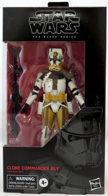 Star Wars The Black Series 6 Inch Action Figure Wave 35 - Clone Commander Bly #104