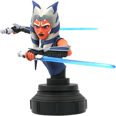 Star Wars The Clone Wars 6 Inch Bust Statue 1/7 Scale - Ahsoka
