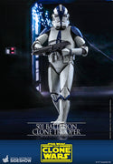 Star Wars The Clone Wars 12 Inch Action Figure 1/6 Scale - 501st Battalion Clone Trooper Hot Toys 906958