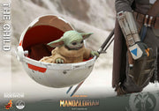 Star Wars The Mandalorian 3 Inch Action Figure 1/4 Scale - The Child (Baby Yoda) Hot Toys 905872