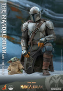 Star Wars The Mandalorian 12 Inch Action Figure 1/4 Scale - The Mandalorian and The Child Hot Toys 907267