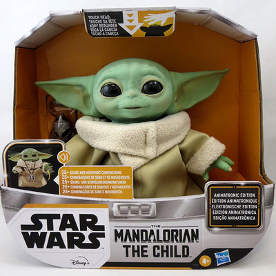 Star Wars The Mandalorian 7 Inch Action Figure Animatronic 25 Sound and Motion Combination- The Child Baby Yoda