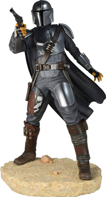 Star Wars The Mandalorian Premier Collection 10 Inch Statue Figure - MK 3 Beskar Armor Mandalorian