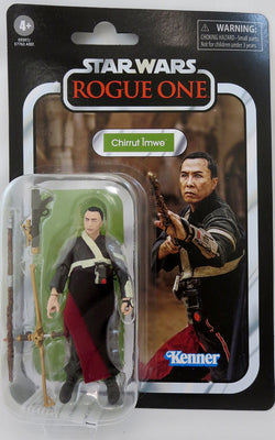 Star Wars The Vintage Collection 3.75 Inch Action Figure (2020 Wave 6) - Chirrut Imwe VC174
