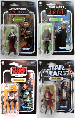 Star Wars The Vintage Collection 3.75 Inch Action Figure (2020 Wave 6) - Set of 4 (VC172 to VC175)