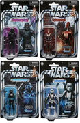 Star Wars The Vintage Collection 3.75 Inch Action Figure Gaming Greats Wave 1 - Set of (Shock - Purge - Shadow - Droid)