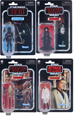 Star Wars The Vintage Collection 3.75 Inch Action Figure Wave 9 - Set of 4