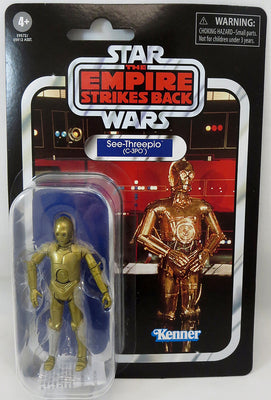 Star Wars The Vintage Collection 3.75 Inch Action Figure (2020 Wave 4) - C-3PO VC06