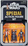 Star Wars 3.75 Inch Action Figure Vintage Series - Doctor Aphra Comic Set Exclusive (Shelf Wear Packaging)