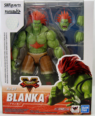 Street Fighter 6 Inch Action Figure S.H. Figuarts - Blanka