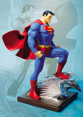 Superman Mini Statue 6 Inch Static Figure - Superman by Jim Lee