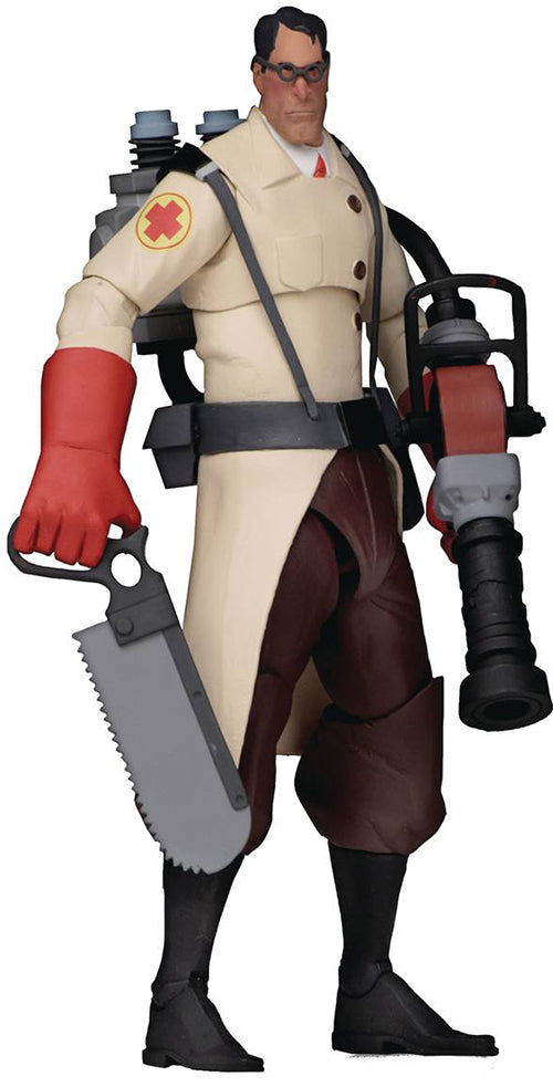 Team Fortress 7 Inch Action FIgure Series 4 - Red Medic