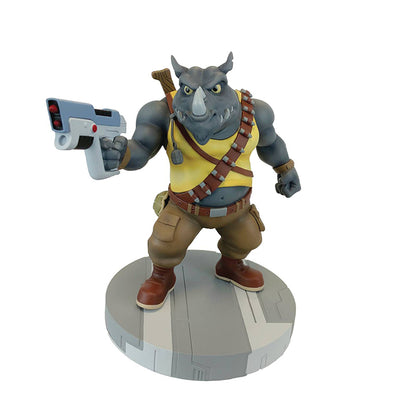 Teenage Mutant Ninja Turtles 9 Inch Statue Figure 1/8 Scale PVC - Rocksteady