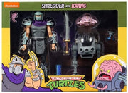 Teenage Mutant Ninja Turtles 7 Inch Action Figure 1980 Cartoon 2-Pack - Shredder & Krang