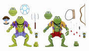 Teenage Mutant Ninja Turtles 1980 Cartoon 7 Inch Action Figure Ultimate Series - Genghis and Rasputin The Frogs