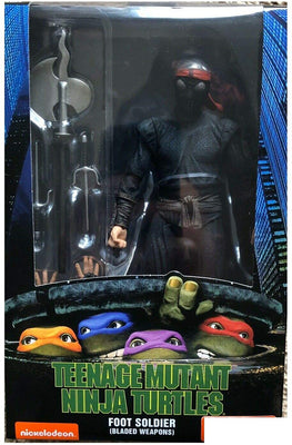 Teenage Mutant Ninja Turtles 7 Inch Action Figure 1990 Movie Series - Foot Solider Bladed (Back-Order Ships Fall 2020)