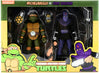 Teenage Mutant Ninja Turtles 6 Inch Action Figure 2-Pack Animated Series - Michelangelo vs Foot Soldier Exclusive