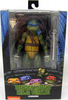 Teenage Mutant Ninja Turtles 6 Inch Action Figure Exclusive - Leonardo 1990 Movie Version