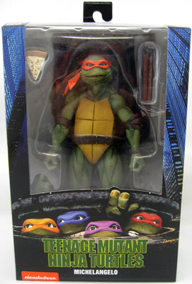 Teenage Mutant Ninja Turtles 6 Inch Action Figure Exclusive - Michelangelo 1990 Movie Version